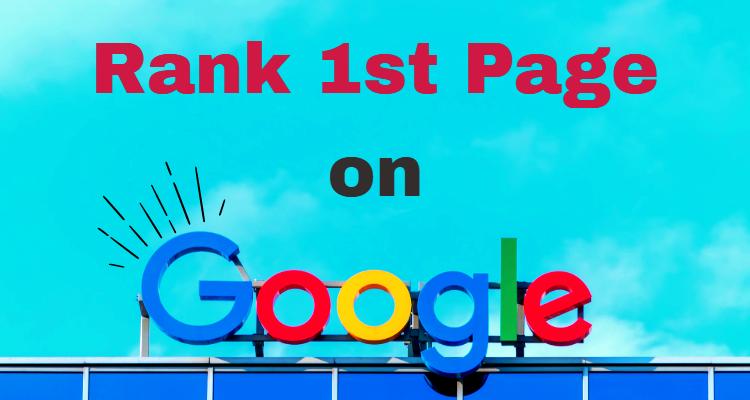 Guaranteed 1st page Google Ranking