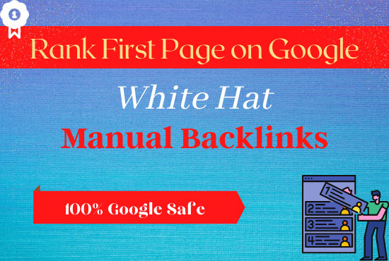 Rank your website first page of google with white hat SEO
