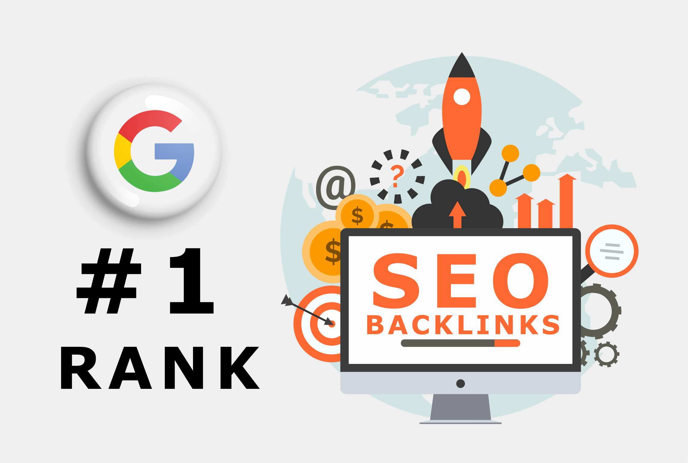 I will build high quality seo backlinks for google first page ranking