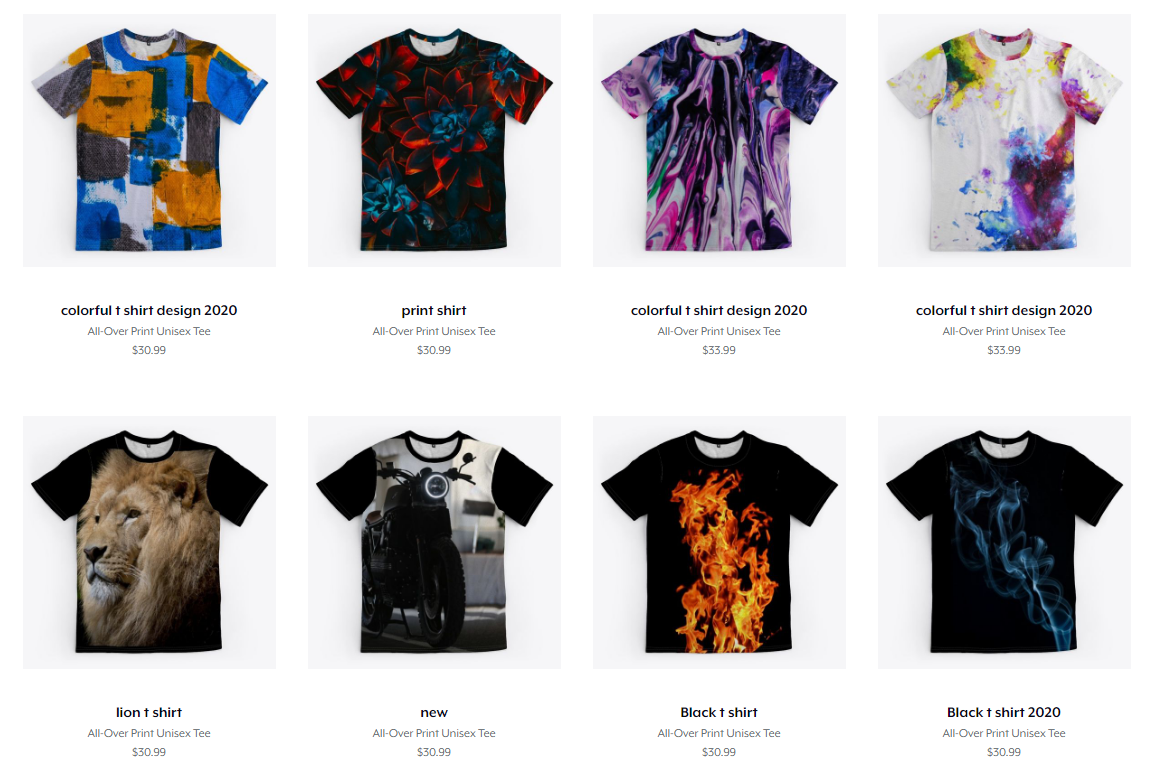 I will create and set up your teespring storefront tshirt design