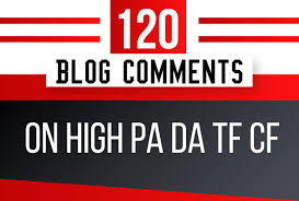 120 dofollow blog comment backlinks & off page seo