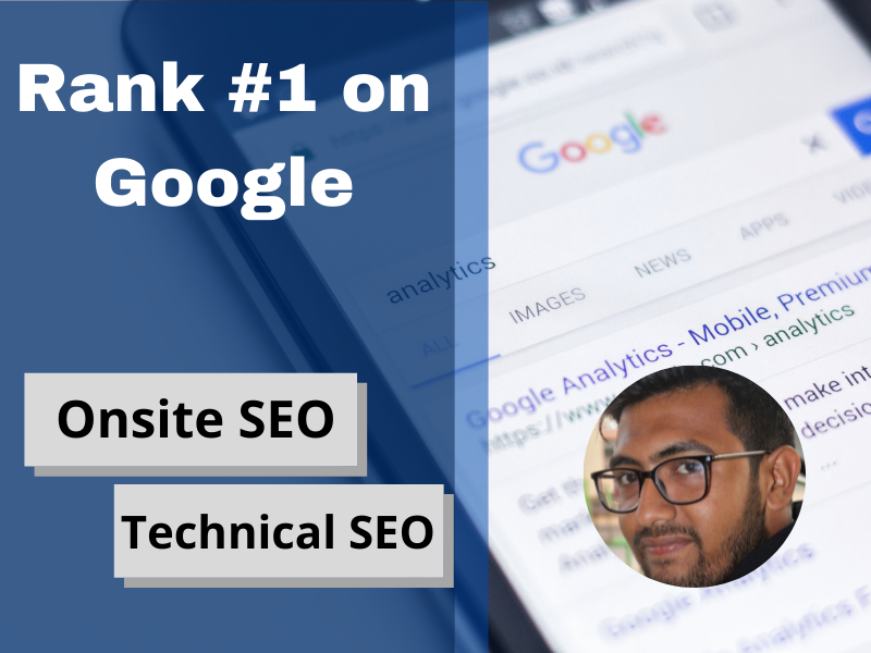 Website Onsite SEO and technical optimization for WordPress website