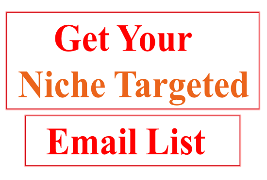 Providing 50000 Targeted Email List