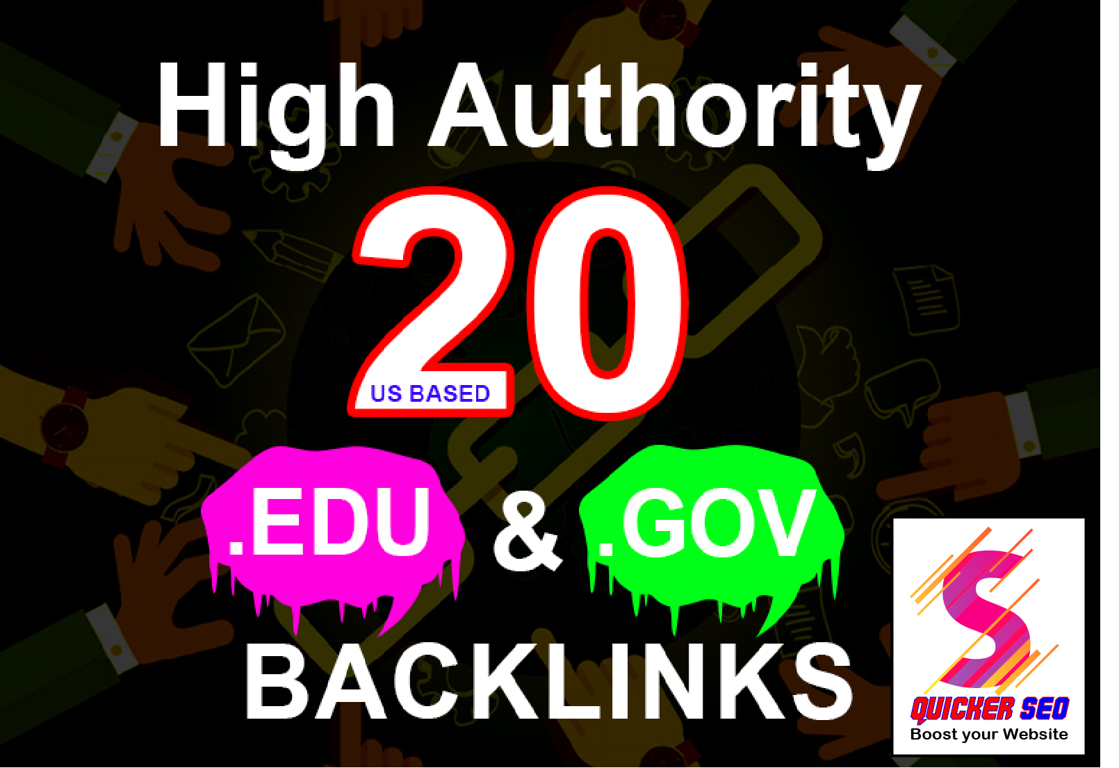Make 20+ EDU-GOV Safe SEO Backlinks Authority Site to Boost Your Google Ranking
