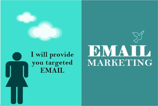 Provide You 1000 Verified & Active Email For Your Website/Business By Email Marketing
