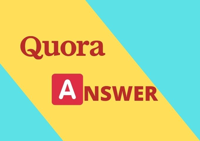 Promote your website Related Keyword 8 HQ quora Answer with backlink