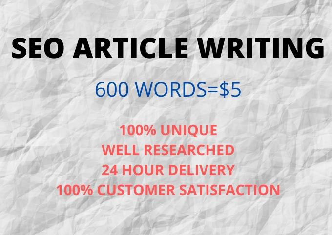 I will do 600 SEO article writing,  content writing,  blog writing