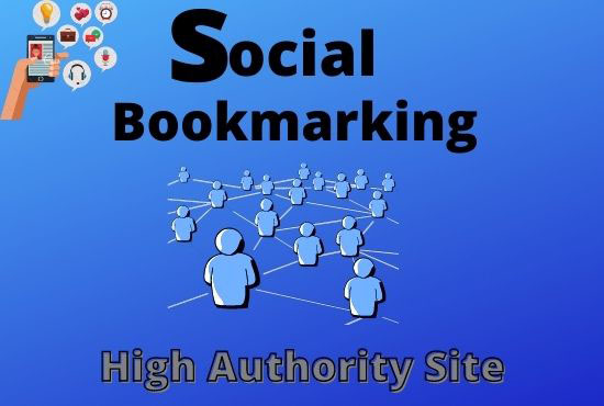 Create 30+ Social Bookmarking Live Backlinks for google rank
