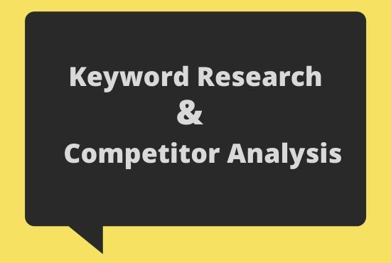 High traffic SEO keyword research and competitor analysis on any niche