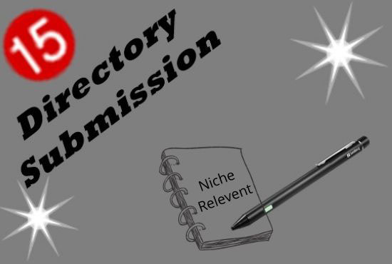 15 SEO Friendly High Quality Niche Relevant Directory Submissions