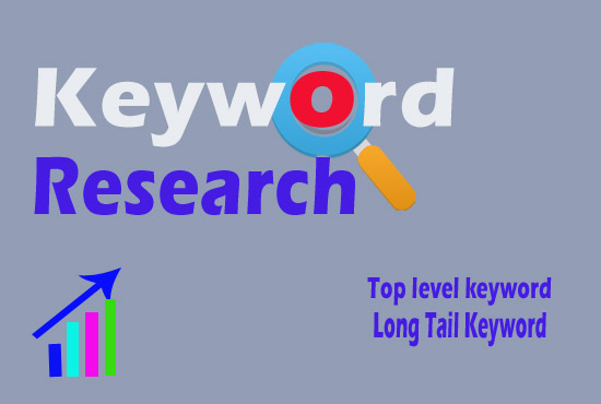 Niche relevant keyword research and 5 competitor analysis for actually rank