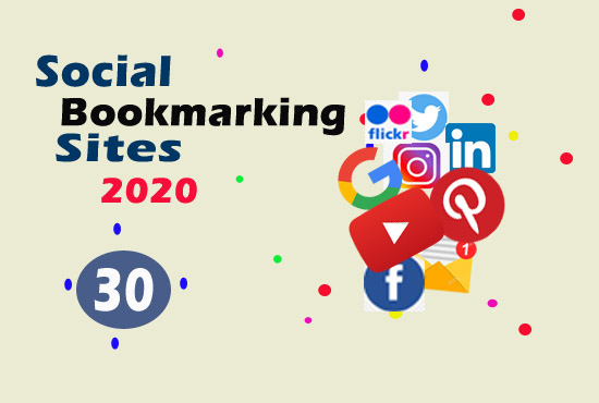 I will create manually high quality with 30+ social bookmarking