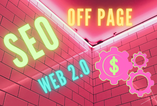 I will Offer off page SEO for your website with permanent backlinks