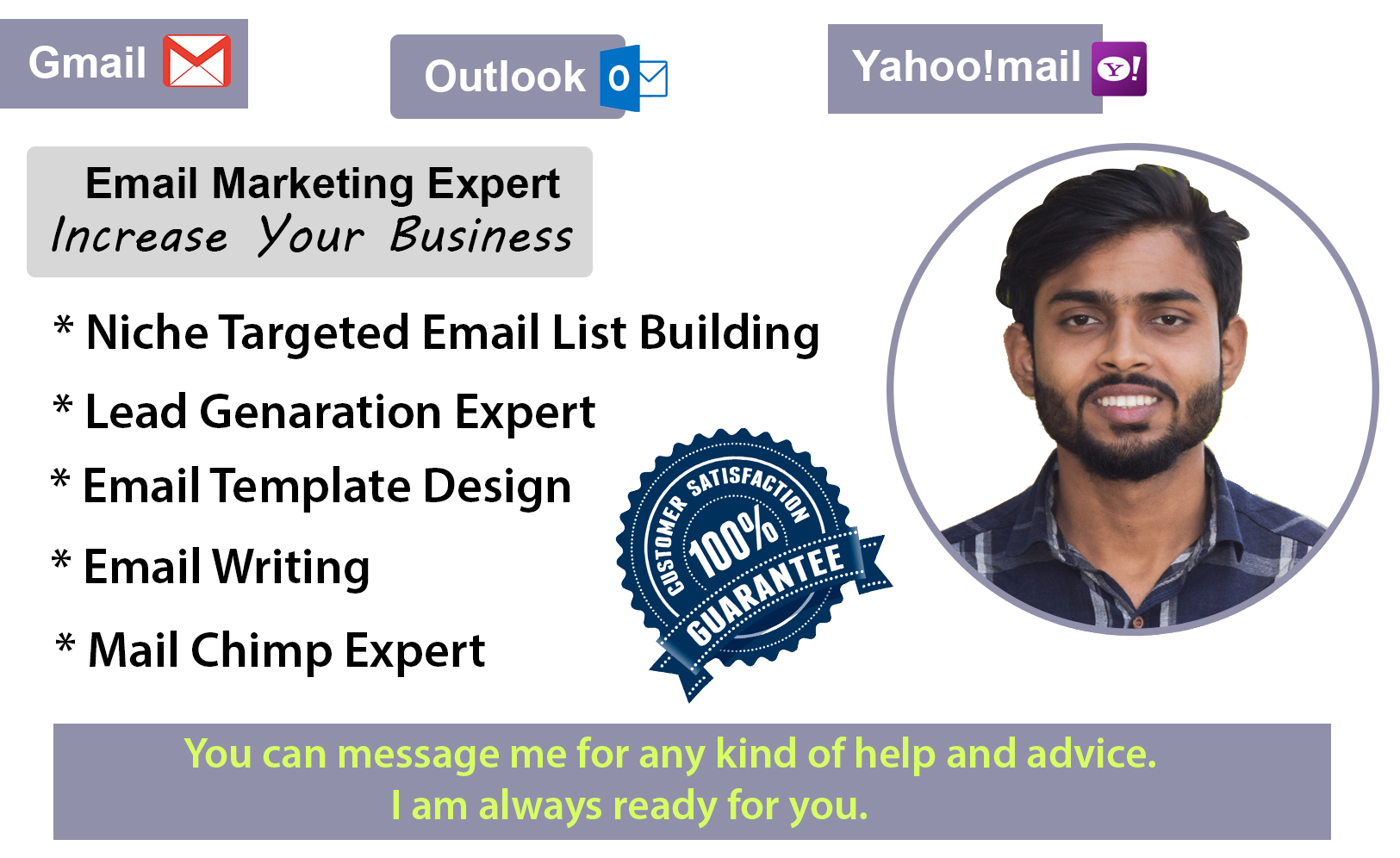 I Will Provided Organic Targeted Verified 20000 Email List Services