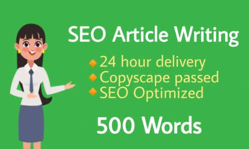 Write 500 words Article that is SEO Optimized and Unique on any topic