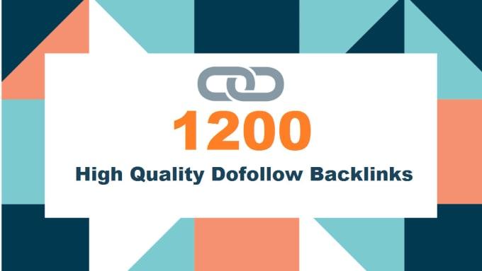 I will creat 1200 high Quality DA PA dofollow blog comment backlinks
