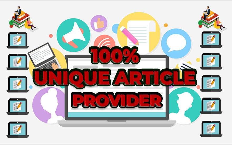 I will write/rewrite 100 unique 600-800 words article