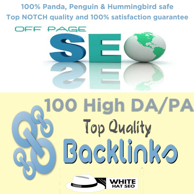 I will do 100 high quality domain authority SEO profile backlinks
