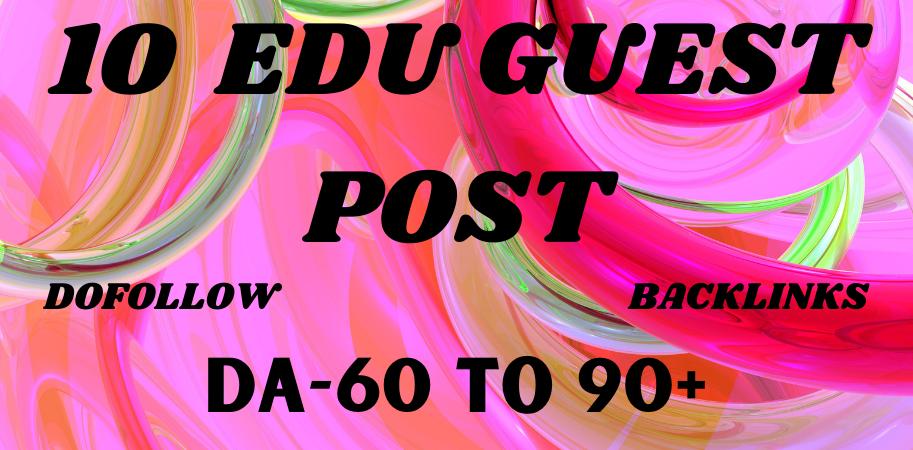 10 Dofollow Edu Guest Posts on Top Universities DA90+ Sites