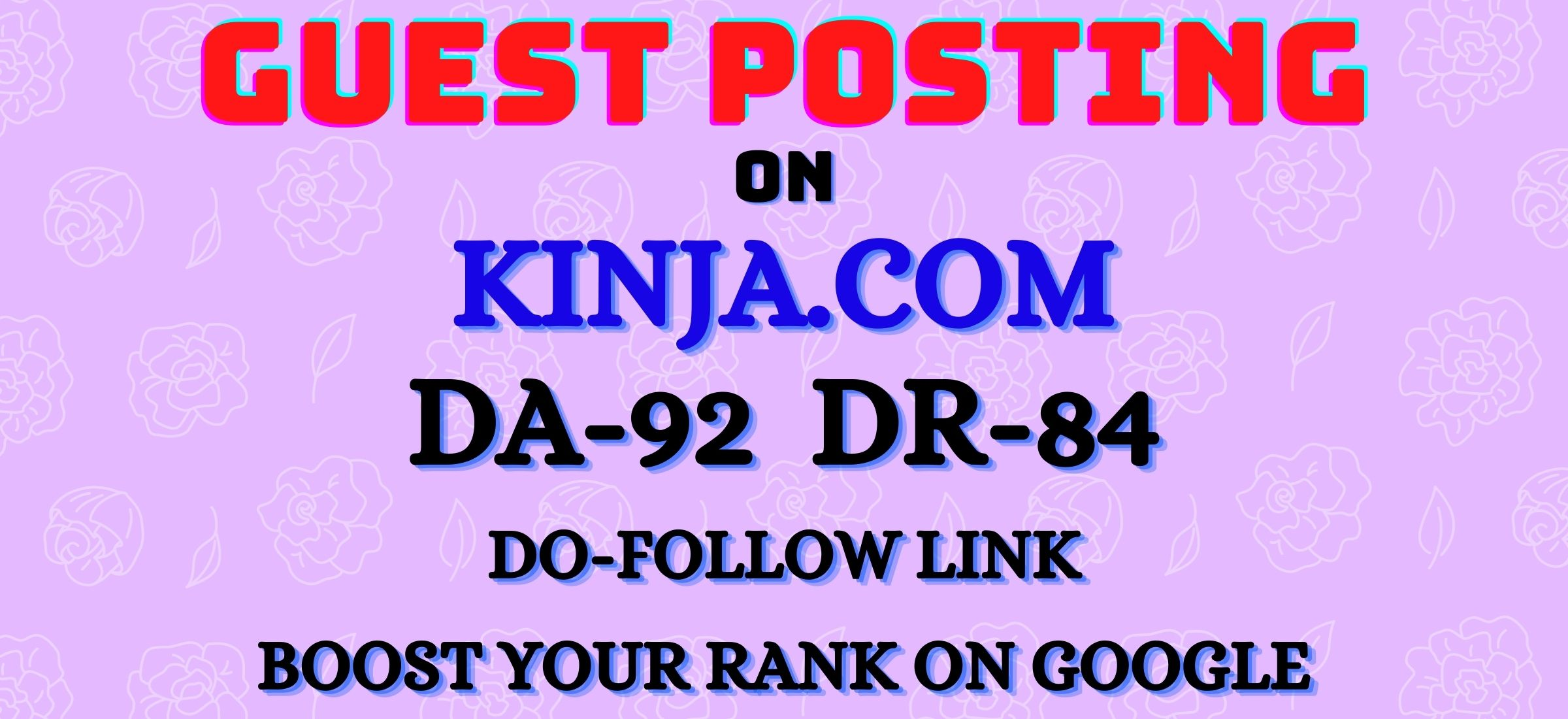 Write and publish DoFoIIow guest post on Kinja DA-92