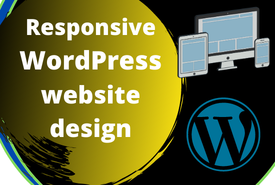 i will build fully responsive WordPress website design