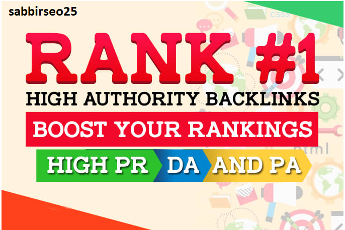 Rank your website with monthly off page SEO service, pro high quality backlinks