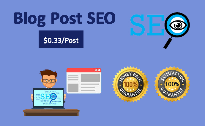 I will do SEO of 75 Blog Posts to rank your website