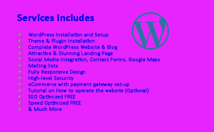 I will design Attractive and Responsive ECommerce WordPress Website