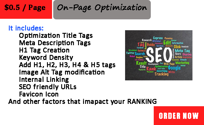 I will do On Page SEO and technical optimization of WordPress Website