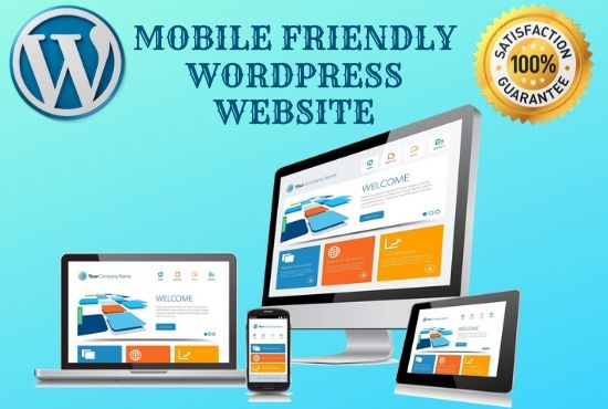 I will create and redesign a responsive Wordpress