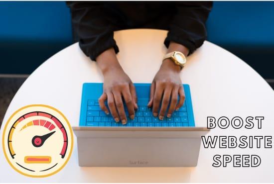 i will twitch speed optimization your WordPress website optimization