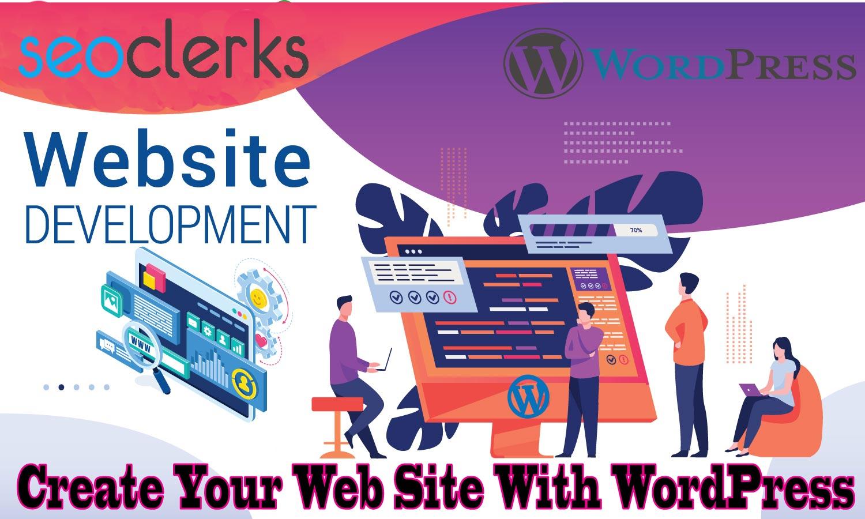 I will build WordPress websites,  design,  development,  and customization