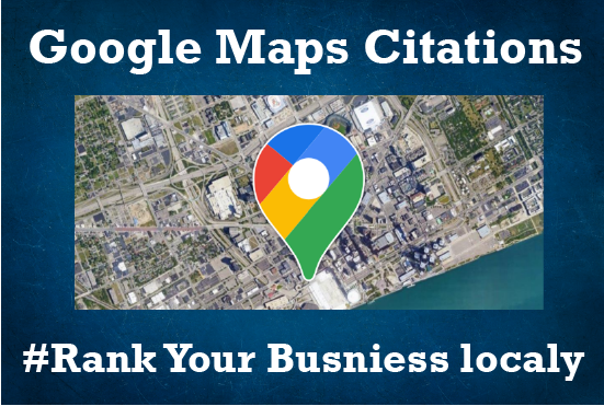 I will rank your Local business with 300 Maps citations and 5 direction