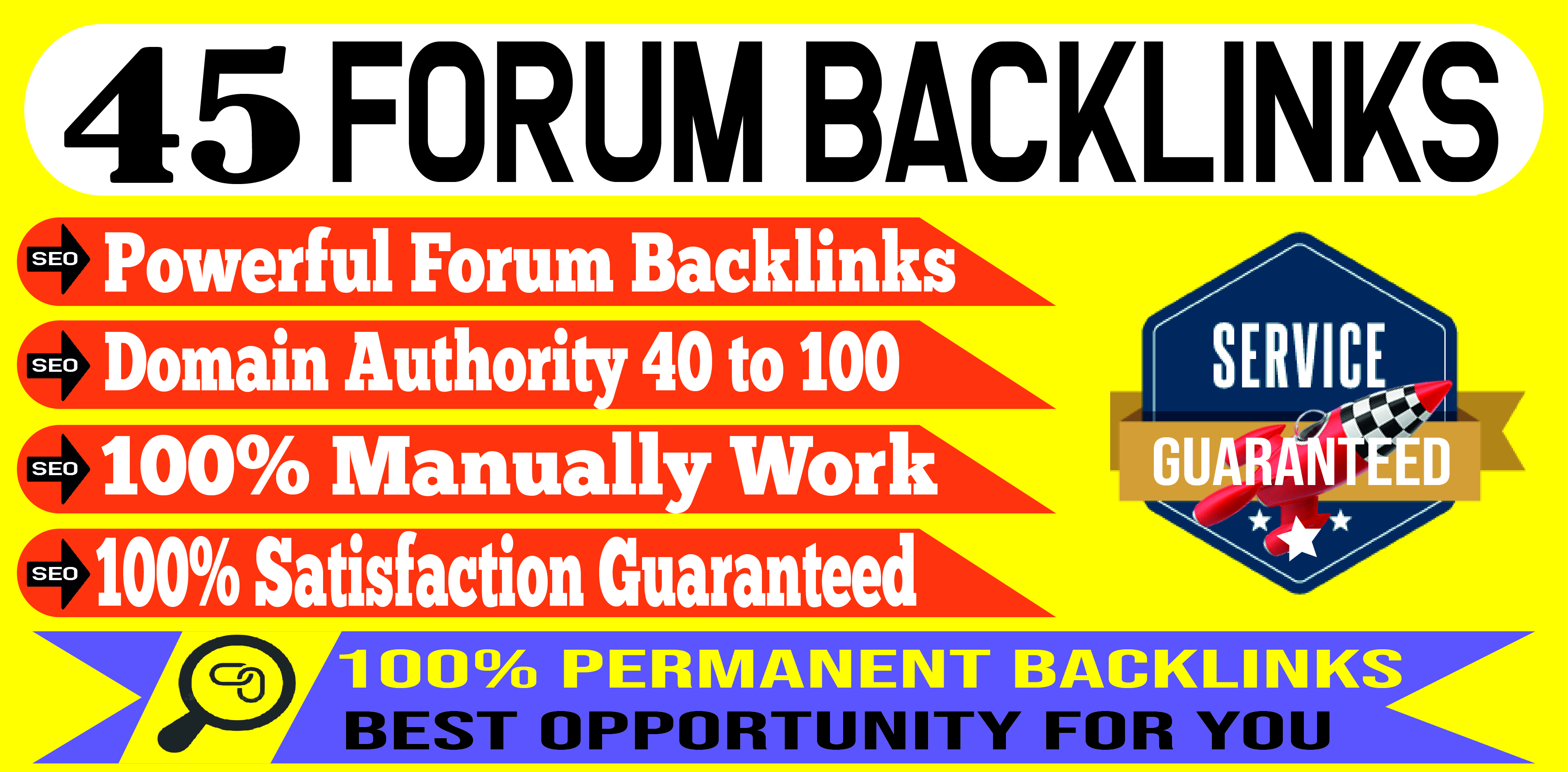 Create 45 Quality Forum Posting To Increase Your Website Ranking
