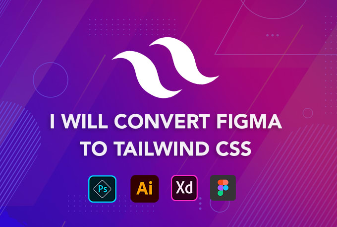 I will convert PSD to tailwind CSS responsive HTML