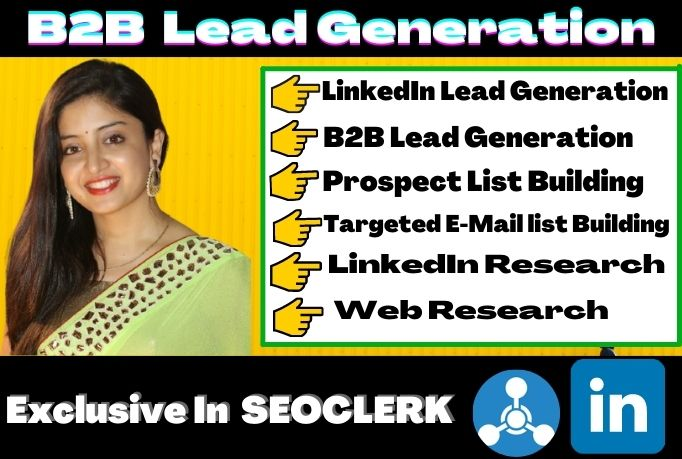 I will do collect b2b lead generation, web research, build prospect email list