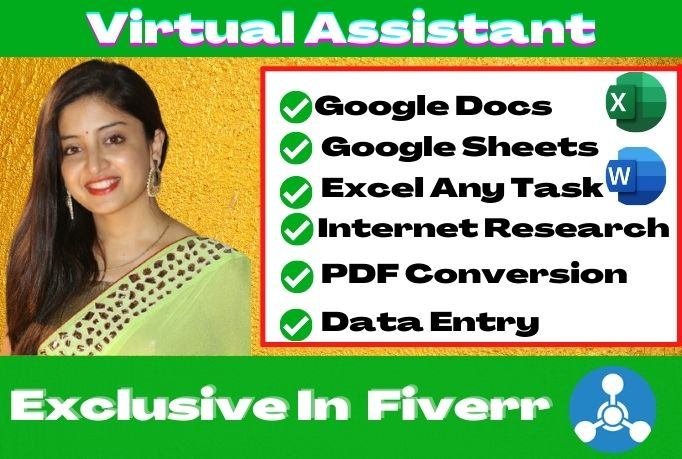 I will be your dependable personal virtual assistant