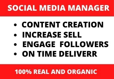 I will create your social media