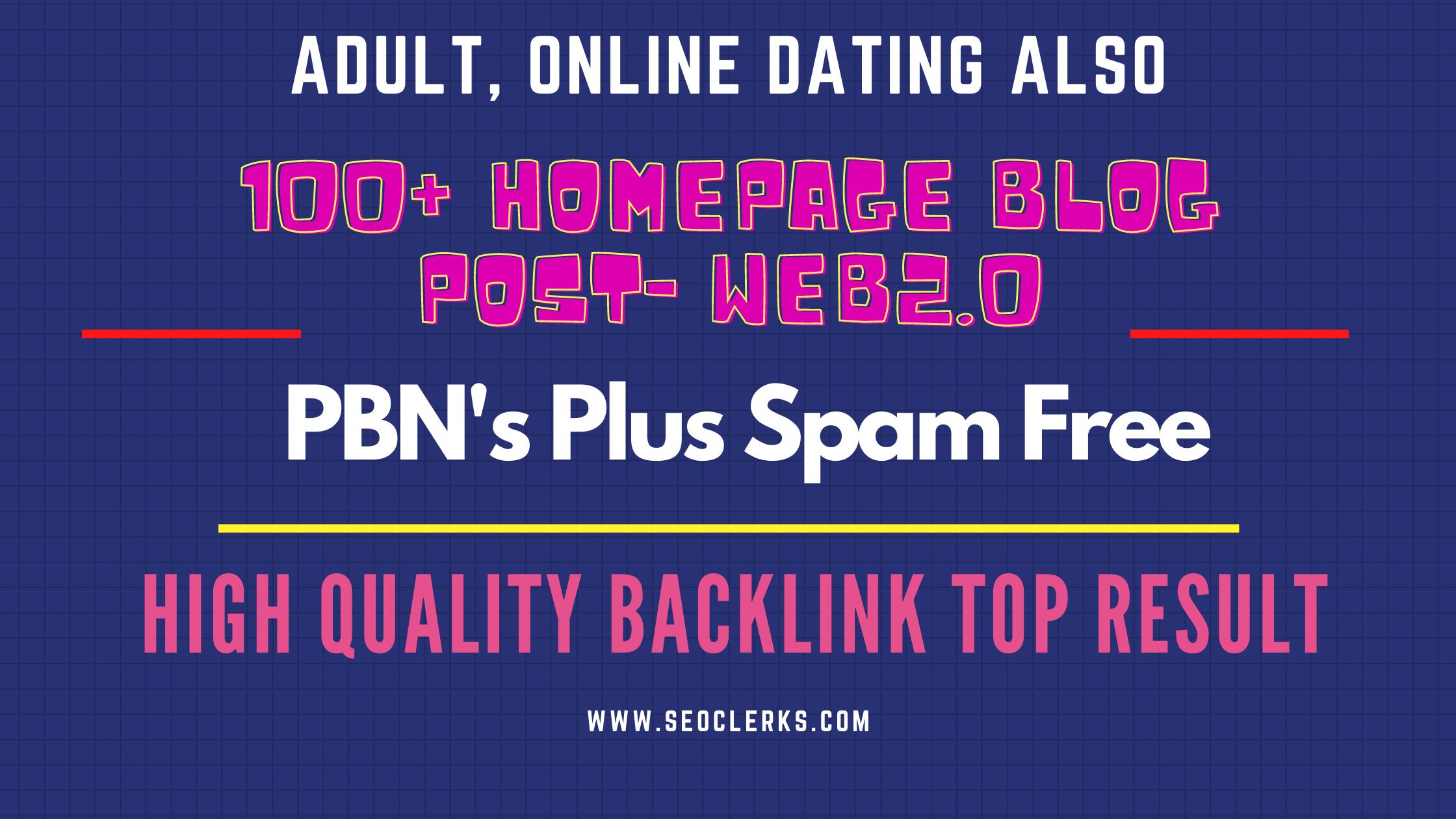 100+ Adult,  Gambling PBN High Quality Blog post Backlinks Google Top Ranking by Quality links