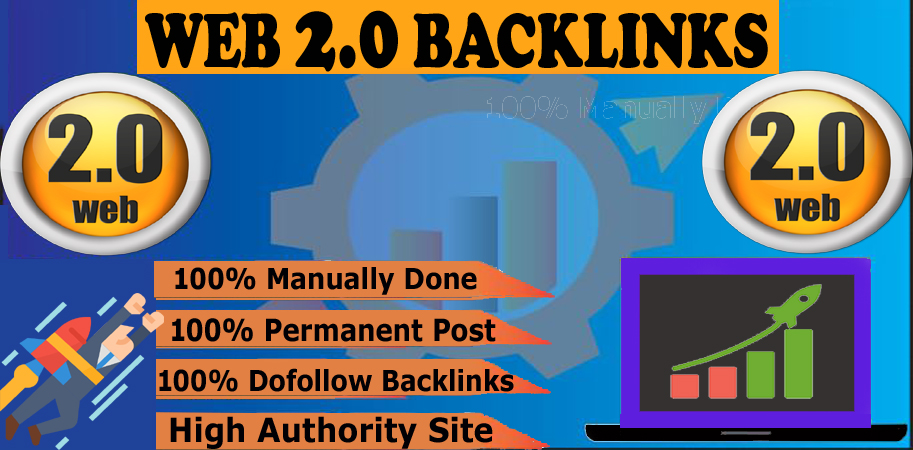 Buield Manually 10 High Quality Web2.0 SEO Backlink