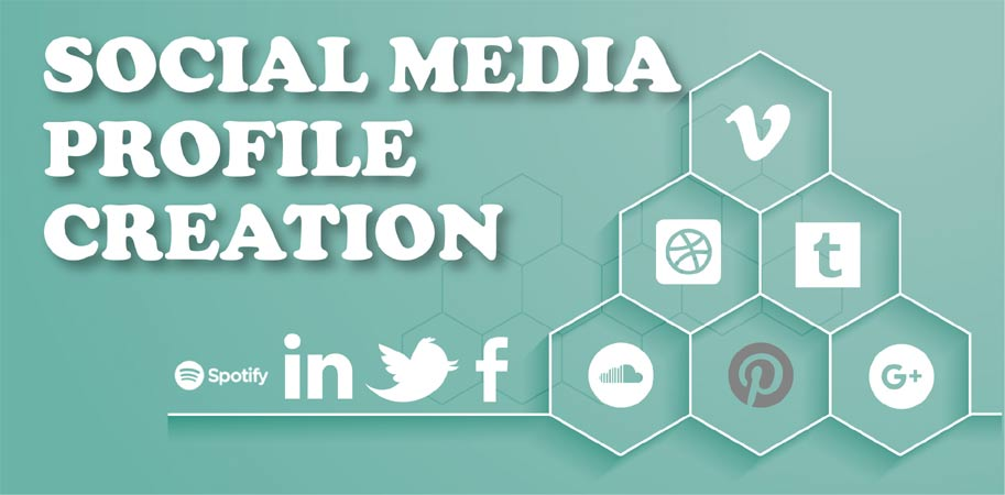 Create 15 High DA social profile creation seo backlinks for your website
