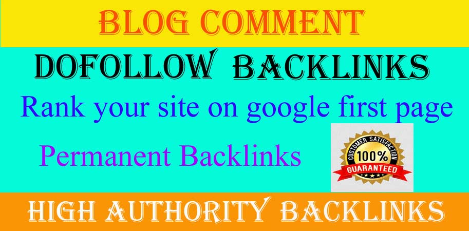 Get 100 HQ Manually Dofollow Blog Comment Backlinks.