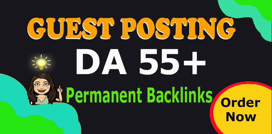 I will Publish Your 20 Guest Posts Backlinks on 55 to 99 DA Website