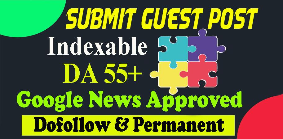 Publish Dofollow Niche Guest Post Backlink on Premium Google News Approve Site