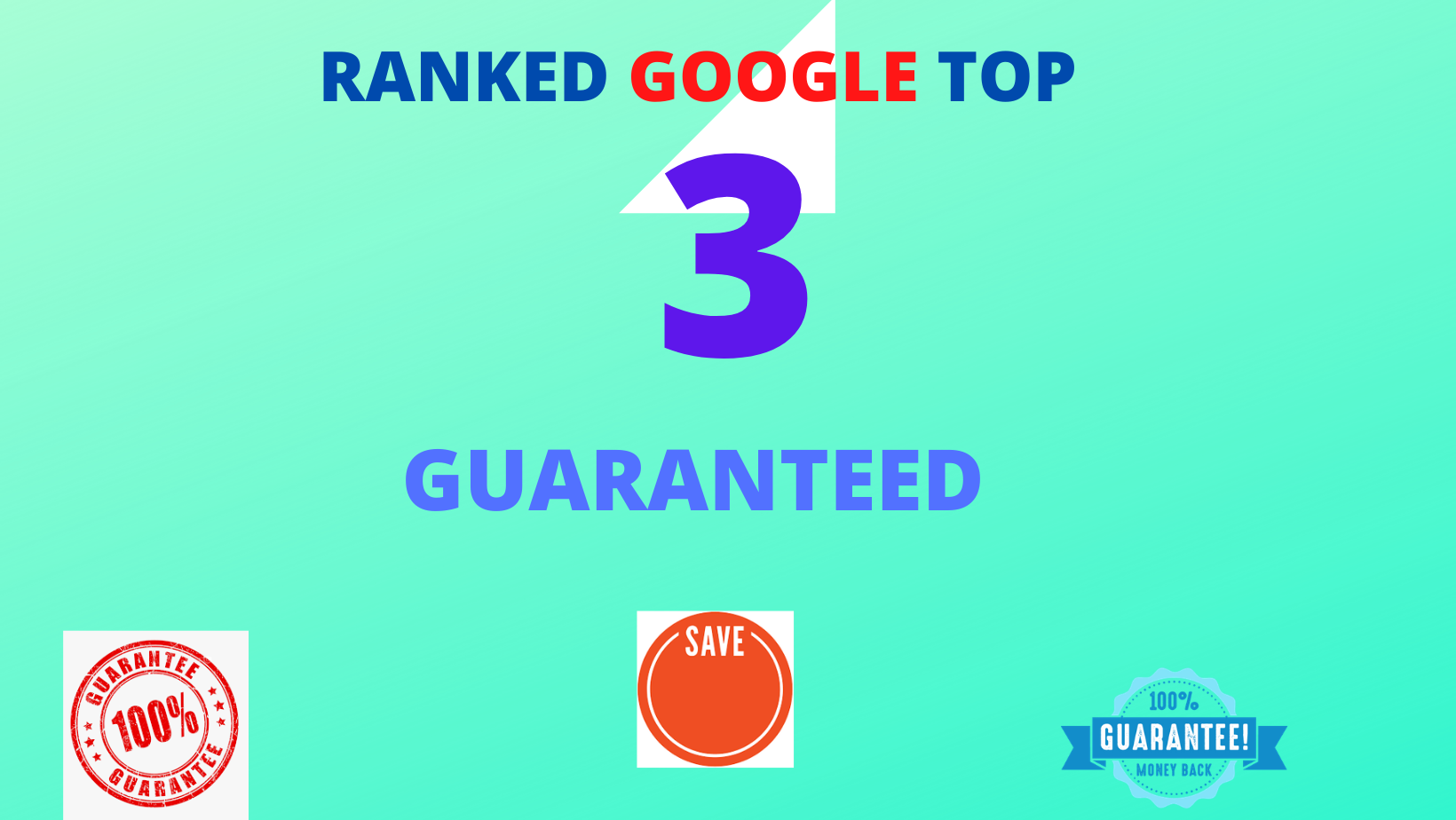 GOOGLE RANKED TOP 3 GUARANTEED - March Update 2021