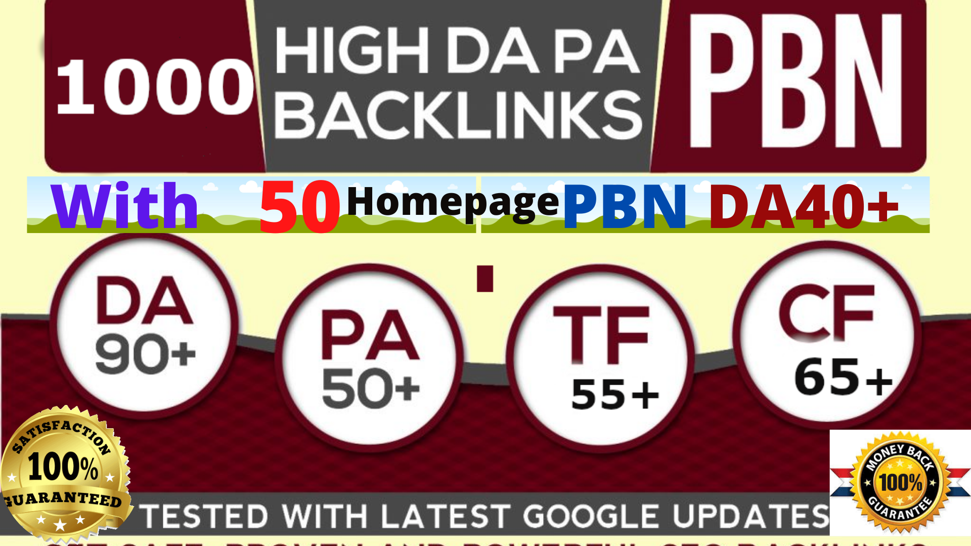 Short Time Offer-high DA90+1000+ With 50 Homepage PBNs DA40+ Backlinks