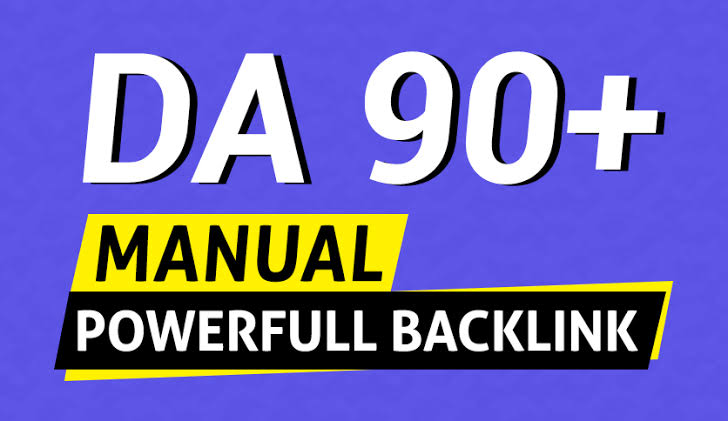 provide. high authority 400 DA 90+and 400 Edu Gov exclusive Backlinks fast ranking