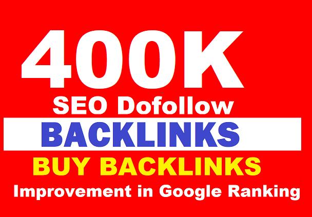 400K SEO Dofollow Backlinks Blast