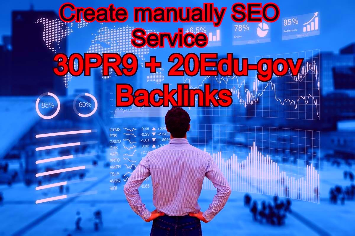 30 PR9 DA 70 + 20 EDU/GOV Safe SEO High Pr From Authority Domain