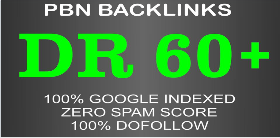 12 DR 50 to 60+ permanant homepage high quality pbn backlink